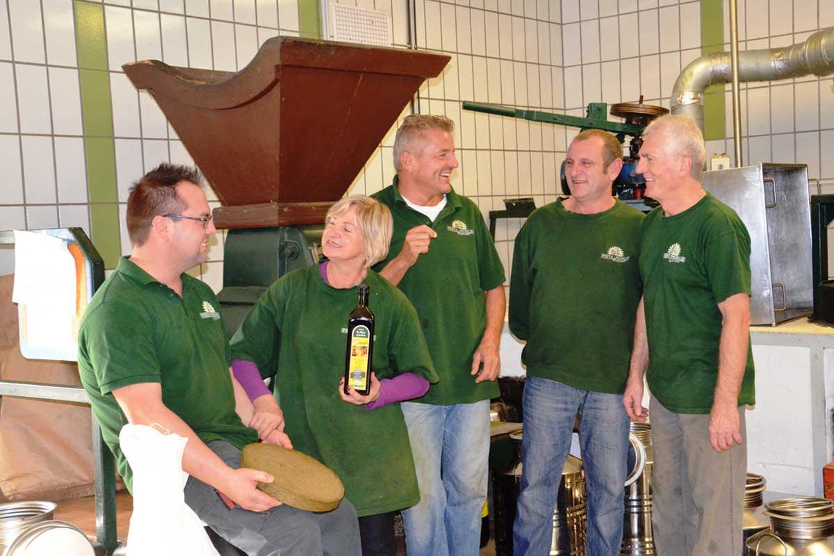 Das Team der Fritz-Mühle