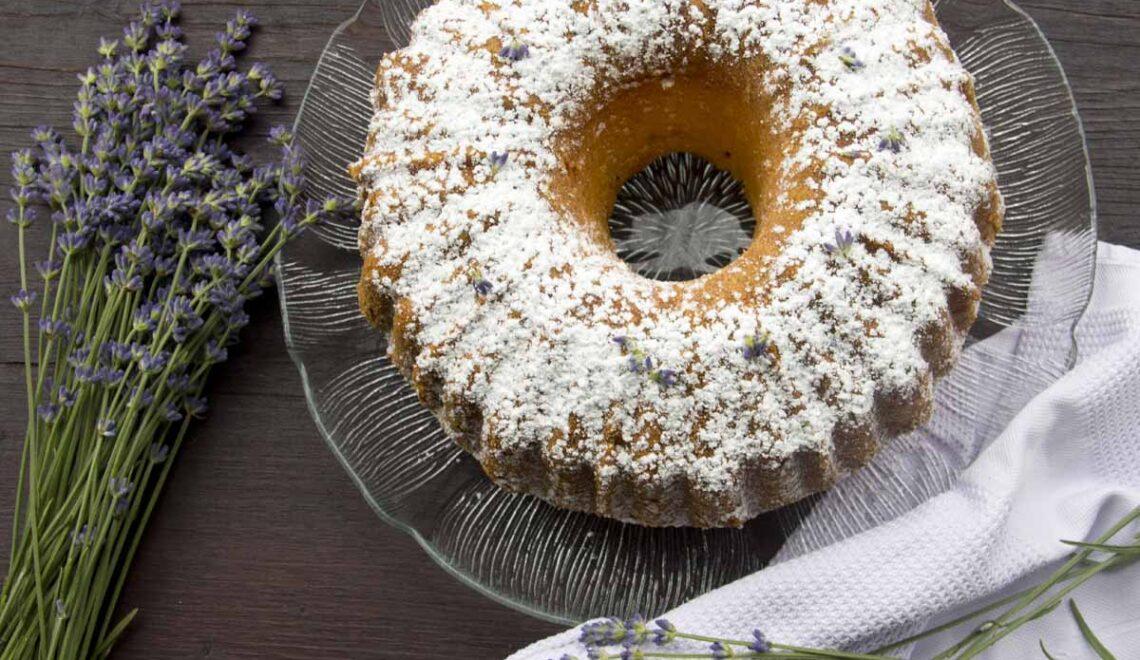 Rezept Lavendel-Zitronen-Gugelhupf